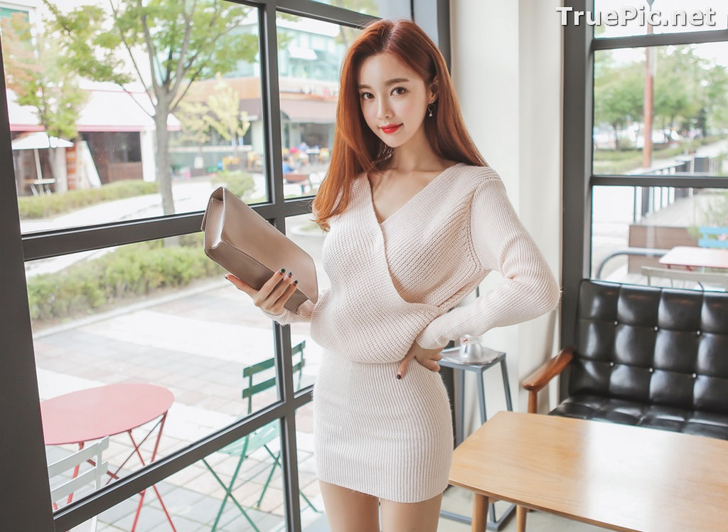 Image Korean Fashion Model – Hyemi – Office Dress Collection #3 - TruePic.net - Picture-9