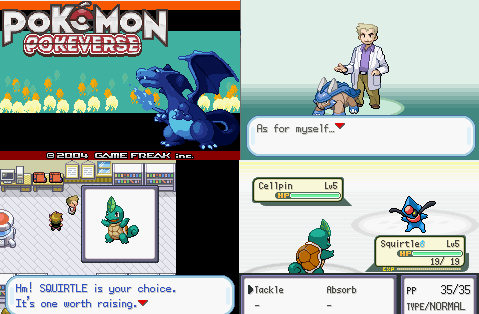 Pokemon POKEVERSE gba rom hack