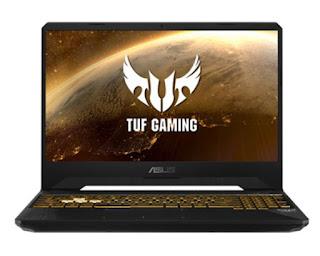 laptop untuk gaming ASUS TUF FX505DY R5561T dengan ryzen 5