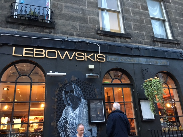 Lebowskis in Edinburgh