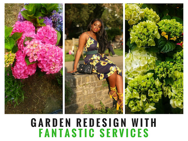FANTASTIC SERVICES REDESIGNS MY GARDEN