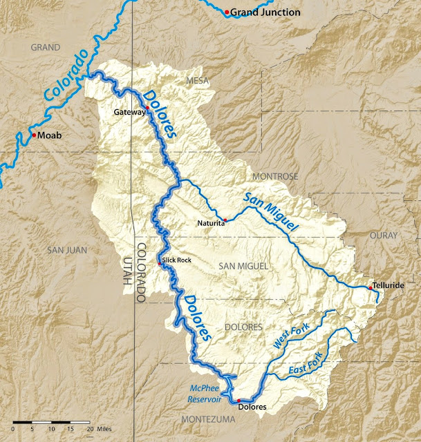 Dolores River Colorado Map.Flying Colorado S Dolores River Passion For Flight