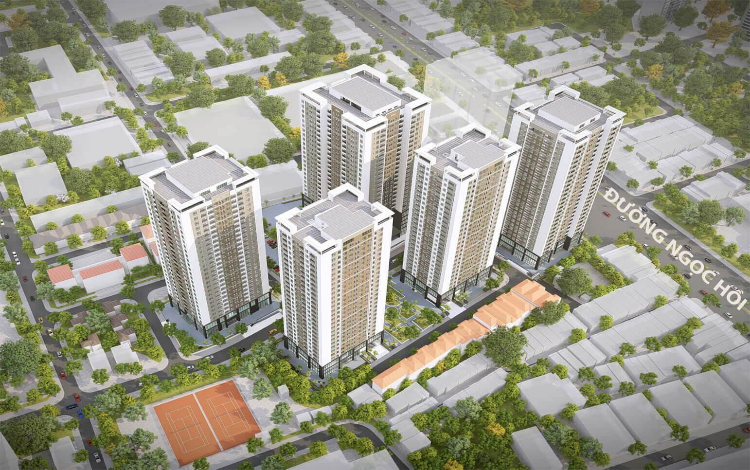 """""""Dự án Rose Town 79 Ngọc Hồi"""" – Tổ hợp dân cư mong chờ phía Nam Hà Nội"""