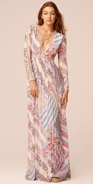 vestido largo colección TommyxGigi primavera