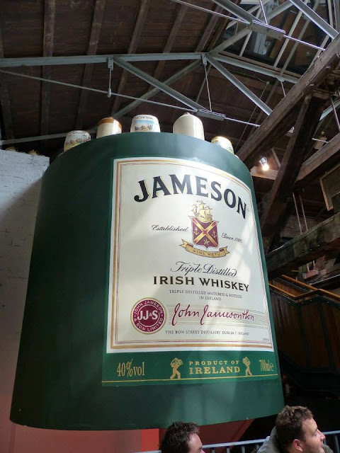ancienne distillerie whiskey Jameson à Dublin