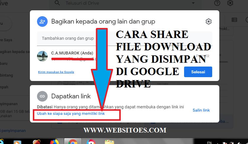 Cara Share File-Download-yang-Disimpan-di-Google-Drive