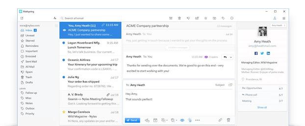 Aplikasi email client pada windows 10
