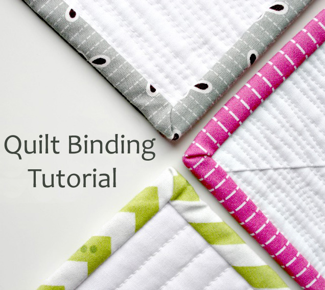 Tutorial: How to Bind a Quilt