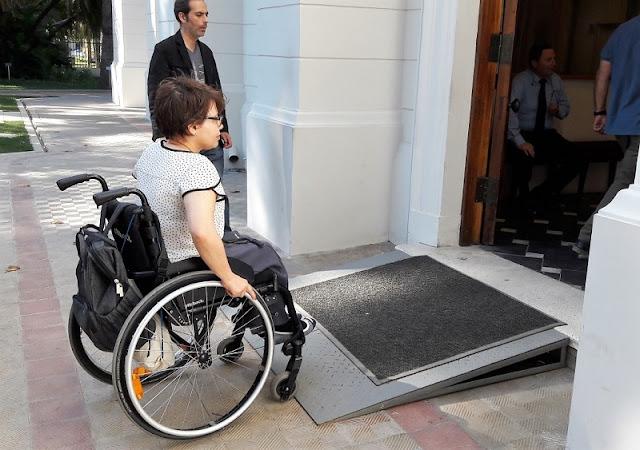 Deficientes físicos em Viña del Mar