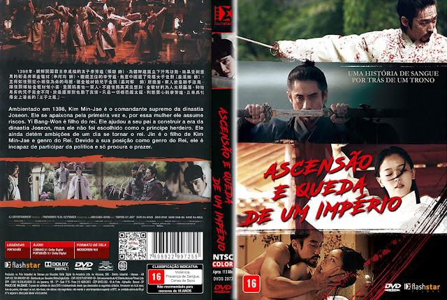 Capa DVD Ascensão e Queda de um Império [Exclusiva]