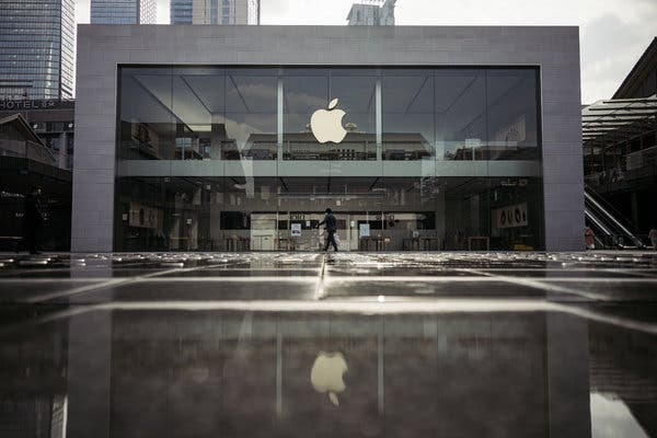 Apple issues revenue warning due to slowdown in China