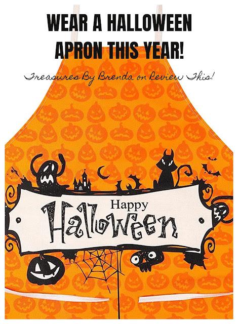 Love Halloween? Wear a Halloween apron this year!
