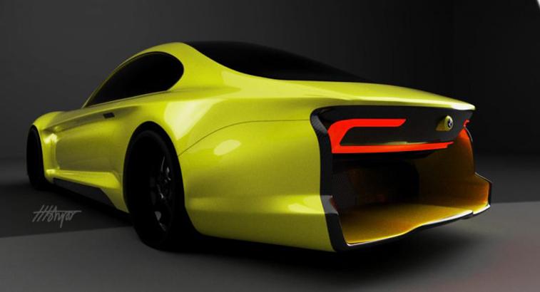 2023 BMW Süper Otomobil tasarımı