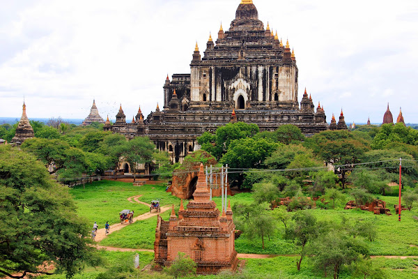 Templo That Byin Nyu en Bagan