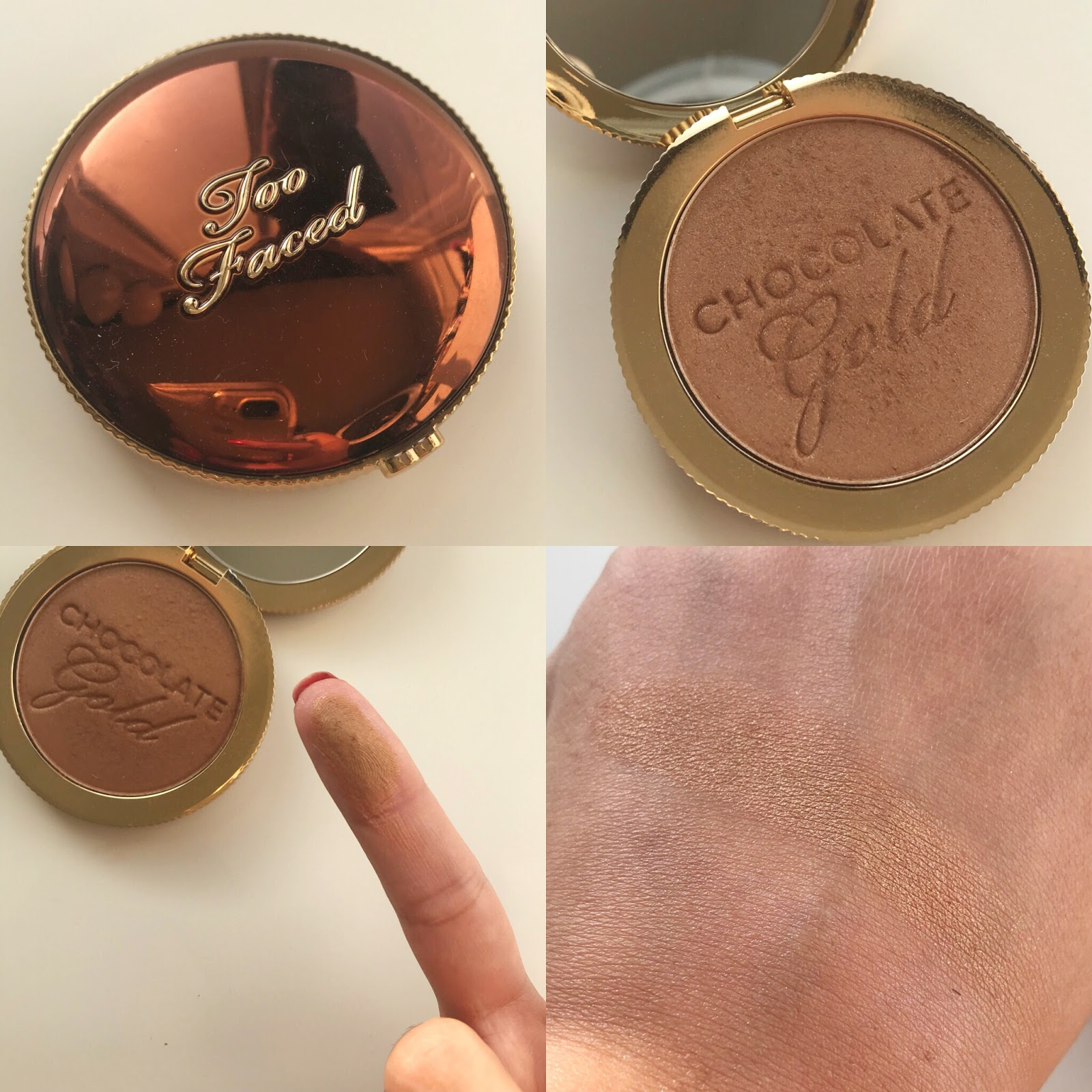 She S A Wildflower Too Faced Chocolate Gold Collection