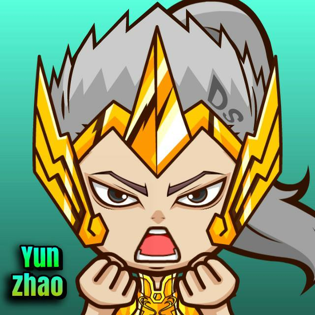 MasMochen Chibi Avatar Mobile Legends Zilong Son Of The Dragon By Denny Sandra