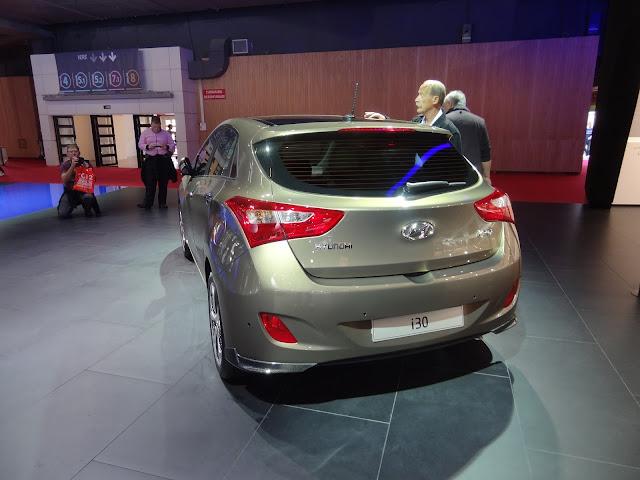 2013 Hyundai i30 back
