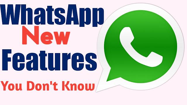 Cool Secret WhatsApp Features