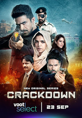 Crackdown S01 Hindi Complete Series 720p WEB HDRip HEVC