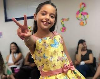 Rayne Almeida se despede do The Voice Kids