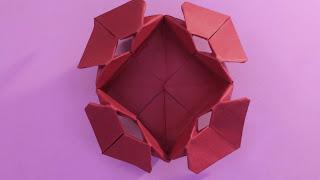 Hướng dẫn cách gấp hộp bằng giấy đơn giản và đẹp