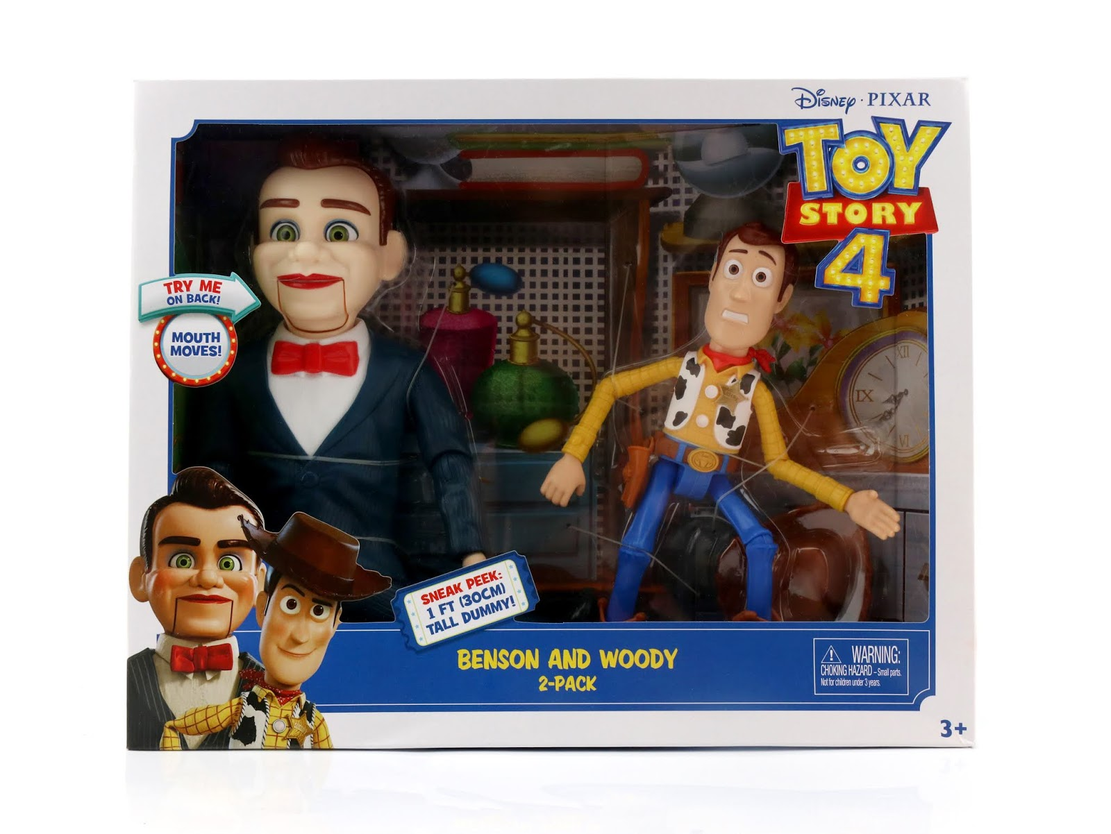 toy story 4 woody benson 2-pack