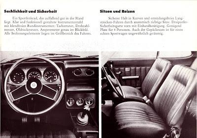 Opel Manta A series GT/E Sales Brochure Page 5