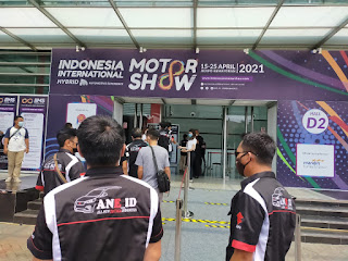 PARTISIPASI ALL NEW ERTIGA INDONESIA (ANE_ID) DI ACARA INDONESIA INTERNATIONAL MOTOR SHOW 2021 BERSAMA FK3O