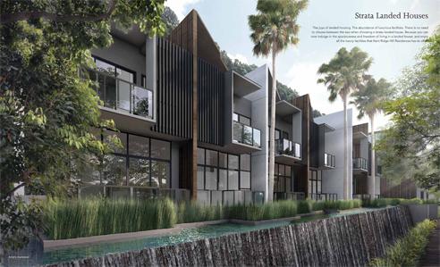 Kent Ridge Residences - Strata Landed House
