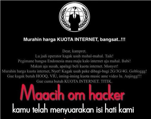 telkomsel dibobol hacker