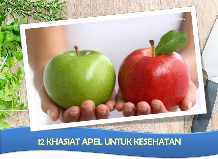 12 Manfaat Buah Apel Untuk Kesehatan