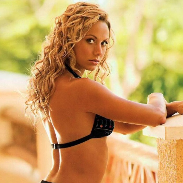 Rather Stacy keibler fhm