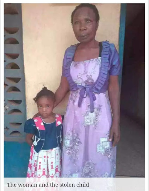 55-year-old Woman Apprehended While Dedicating Stolen Child In Enugu Church