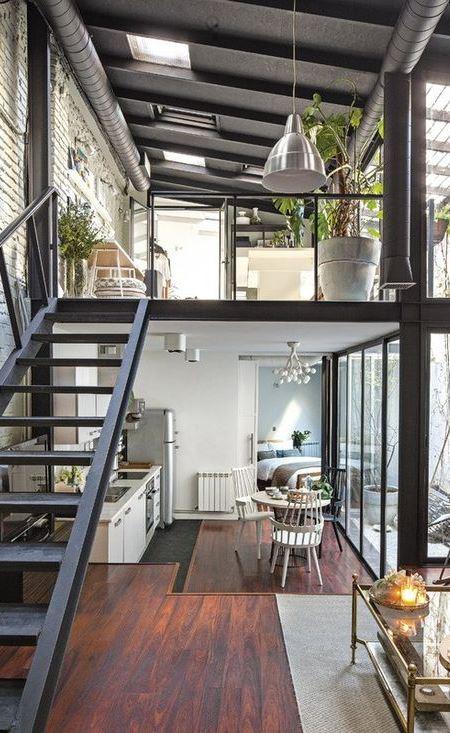 industrial home decor idea