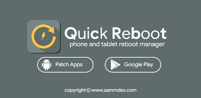 Quick Reboot phone and tablet reboot manager