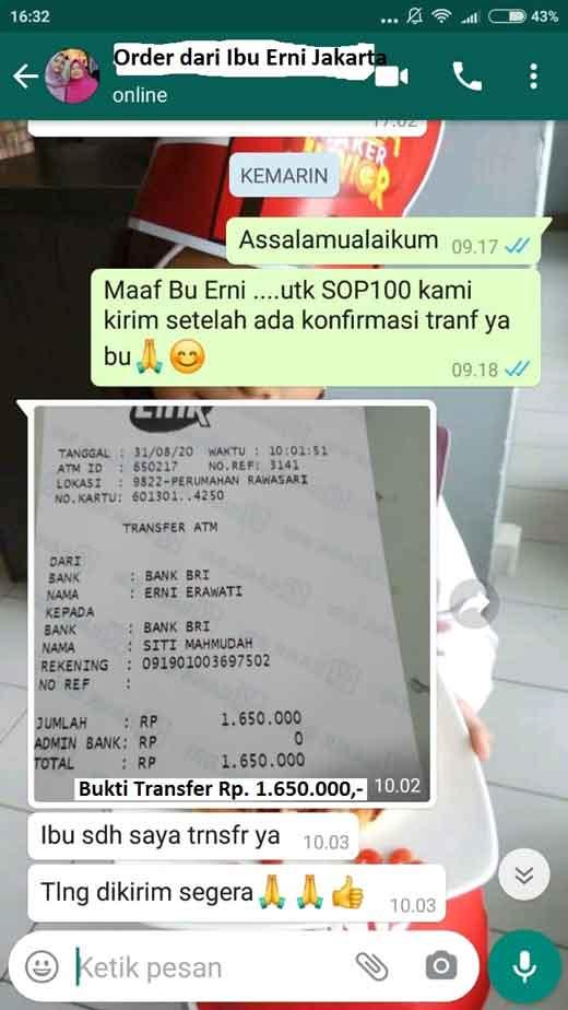 Jual Info Distributor SOP Subarashi untuk Anak di Srengseng. SOP 100+ Medan.