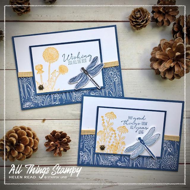 Dandy Garden last chance stampin up card ideas