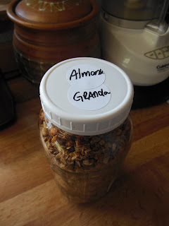 Coconut Almond Granola.