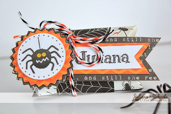 Spooky Halloween Table Decor Place Card by Juliana Michaels