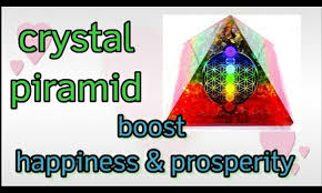 Crystal 🔮 piramid  boost happiness & prosperity।। positive energy।। attract money 💰