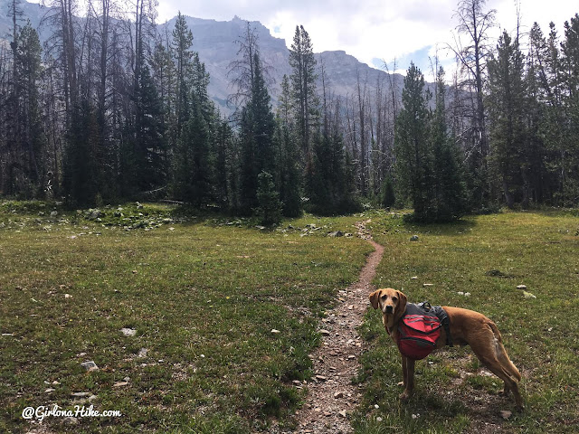 Backpacking to Allsop Lake, Uintas