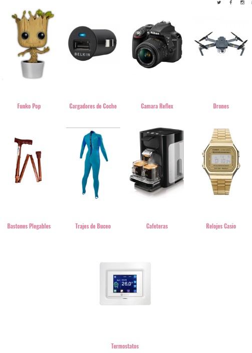 rejilla de categorias tsa blogger