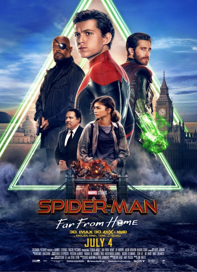 Spider-Man: Far from Home (2019) 720p | 480p WEB-HDRip  Dual Audio [Hindi-Eng] 1.0GB | 400MB Download