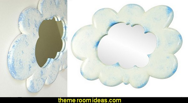 Cloud Wall Mirrorweather themed bedroom ideas - rain decorating ideas for weather themed bedrooms - rain theme bedroom wall decorations - Rain Theme  -  Rainbow Theme   -  Sun Theme  -  Snow Theme  -  Ice Theme - Weather themed Nursery decor -  seasonal decorating ideas - ideas for rain themed bedrooms - raindrop themed bedrooms -  springtime shower - rain cloud wall decals - Raindrop garlands - Paper raindrops