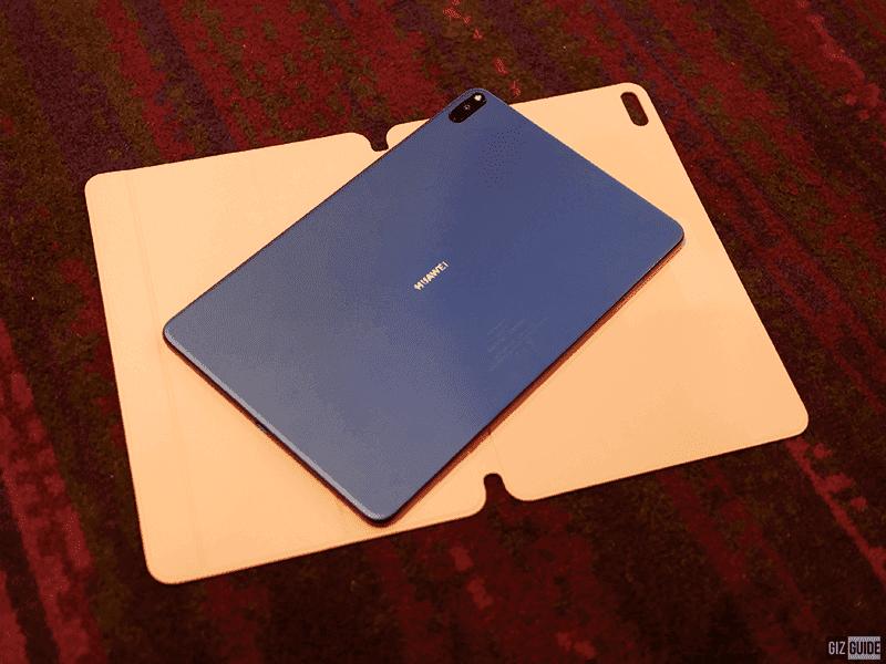 The Huawei MatePad Pro back design