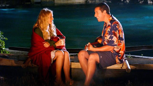 Drew Barrymore e Adam Sandler