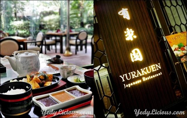 Yurakuen Japanese Restaurant at Diamond Hotel Philippines Blog Review Menu Price Contact No Address Best Japanese Restaurant in Manila Philippines Yurakuen Blog Review Facebook Instagram Twitter YedyLicious Manila Food Blog