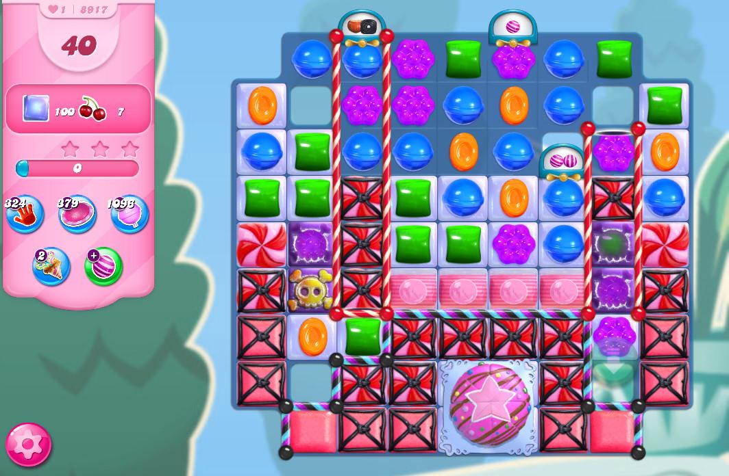 Candy Crush Saga level 8917