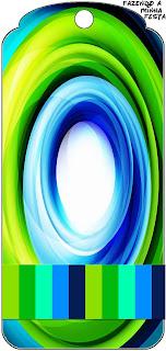 Para marcapáginas de Azul y Verde.