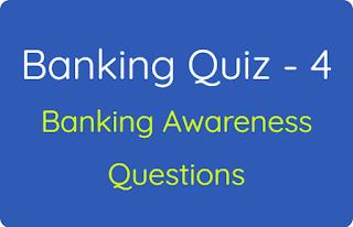 Banking Quiz - 4